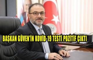 Afşin Belediye Başkanı Güven'in Kovid-19...
