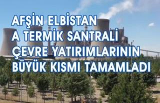 Afşin Elbistan A Termik Santrali Çevre Yatırımlarının...