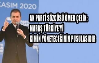 AK Parti Sözcüsü Çelik: Maraş Türkiye'yi...
