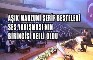 Aşık Mahzuni Şerif Besteleri Ses Yarışması Gerçekleştirildi