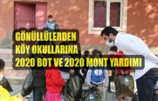 Gönüllülerden Köy Okullarına 2020 Bot ve 2020...