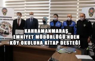 Kahramanmaraş Emniyet Müdürlüğü'nden Köy...