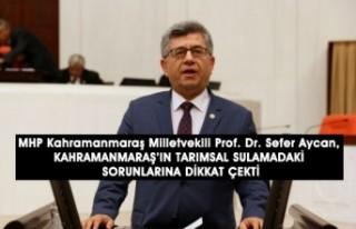 Milletvekili Aycan, Tarımsal Sulamadaki Sorunlara...