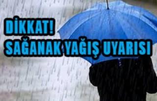 Onikişubat Belediyesi'nden Sağanak Yağış Uyarısı