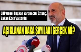 Öztunç, Bakan Koca'ya Günlük Korona Virüs Tablosunu...