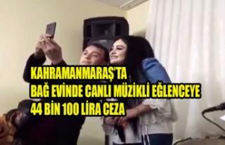 Bağ Evinde Eğlenceye 44 Bin 100 Lira Ceza