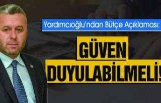 BBP Genel Başkan Yardımcısı Yardımcıoğlu'ndan...