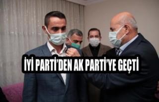 İYİ Parti'den AK Parti'ye Geçti