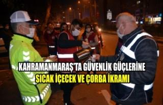 Kahramanmaraş'ta Güvenlik Güçlerine Sıcak...
