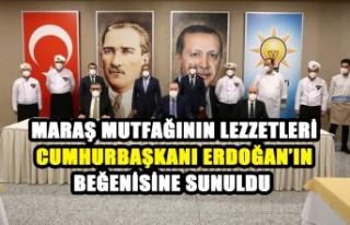 Kahramanmaraş'ın Lezzetleri Cumhurbaşkanı Erdoğan'ın...