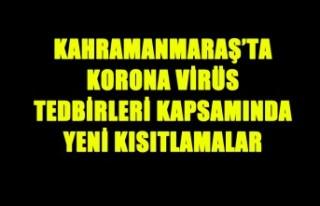 Korona Virüs Tedbirleri Kapsamında Yeni Kısıtlamalar