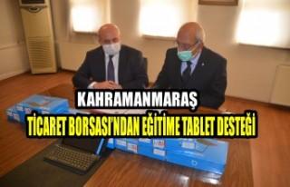 Ticaret Borsası'ndan Eğitime Tablet Desteği