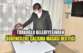 Türkoğlu Belediyesinden Öğrencilere Çalışma...