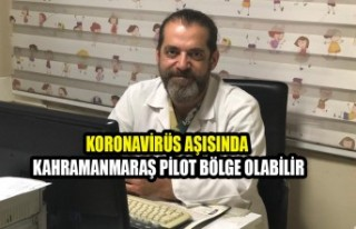 Uzm. Dr. Büyükdereli: Kahramanmaraş Pilot Bölge...