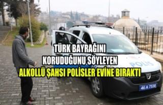 Alkollü Vatandaşın Polislere Bahanesi Güldürdü