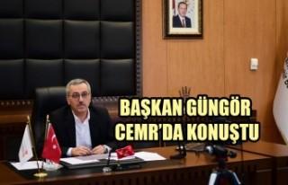 Başkan Güngör CEMR'da Konuştu