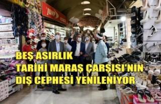 Beş Asırlık Tarihi Maraş Çarşısı'nın...