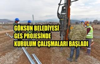 Göksun Belediyesi GES Projesinde Kurulum Çalışmaları...