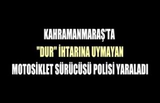 Kahramanmaraş'ta Motosiklet Sürücüsü Polisi...