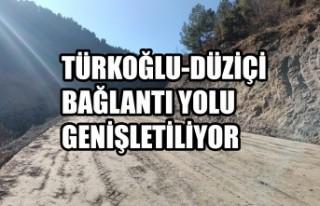 Türkoğlu-Düziçi Bağlantı Yolu Genişletiliyor