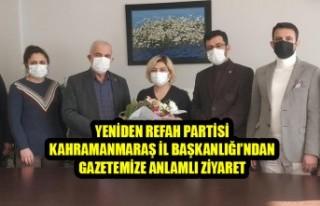 Yeniden Refah Partisi Kahramanmaraş İl Başkanlığı'ndan...