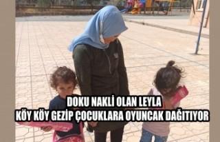 Doku Nakli Olan Leyla Köy Köy Gezip Çocuklara Oyuncak...
