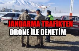 Kahramanmaraş'ta Jandarma Trafikten Drone İle...