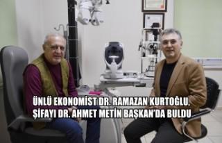 Ünlü Ekonomist Dr. Ramazan Kurtoğlu, Şifayı Dr....