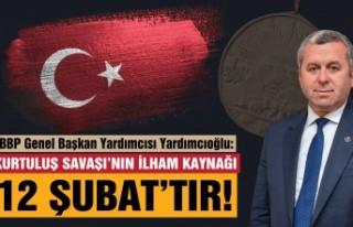 Yardımcıoğlu: Kurtuluş Savaşı'nın İlham...