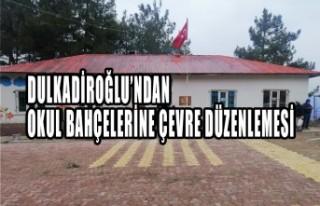 Dulkadiroğlu'ndan Okul Bahçelerine Çevre Düzenlemesi