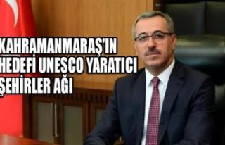 Kahramanmaraş'ın Hedefi UNESCO Yaratıcı Şehirler...