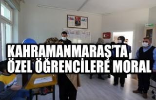 Kahramanmaraş'ta Özel Öğrencilere Moral