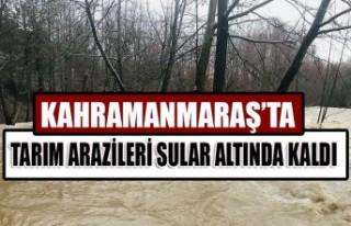 Kahramanmaraş'ta Tarım Arazileri Sular Altında...