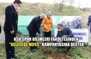 """KSÜ Spor Bilimleri Fakültesinden """"Geleceğe..."""