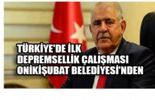 Türkiye'de İlk Depremsellik Çalışması Onikişubat...