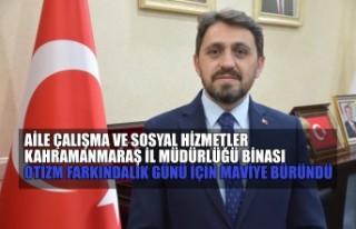 Aile Çalışma ve Sosyal Hizmetler Kahramanmaraş...