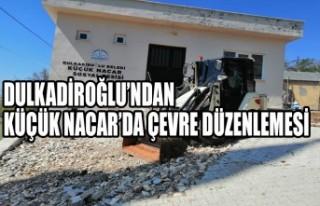 Dulkadiroğlu'ndan Küçük Nacar'da Çevre Düzenlemesi