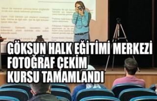 Göksun Halk Eğitimi Merkezi Fotoğraf Çekim Kursu...