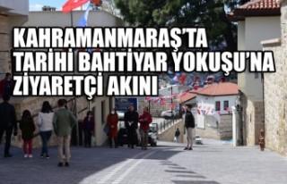 Kahramanmaraş'ta Tarihi Bahtiyar Yokuşu'na Ziyaretçi...