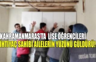 Kahramanmaraş'ta Lise Öğrencileri İhtiyaç Sahibi...