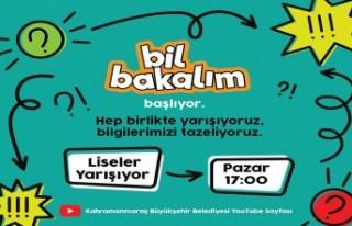 Kahramanmaraş'ta Öğrenciler İçin Online Bilgi...