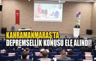 KSÜ ve Onikişubat Belediyesi İşbirliğiyle Kahramanmaraş...