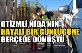 Otizmli Nida'nın Jandarma Olma Hayali Bir Günlüğüne...