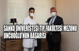 SANKO Üniveristesi Tıp Fakültesi Mezunu Uncuoğlu'nun...