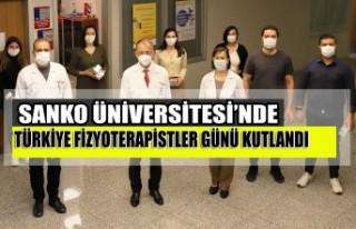 SANKO Üniversitesi'nde Türkiye Fizyoterapistler...