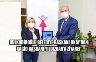 Başkan Okay'dan KAGİD'e Ziyaret