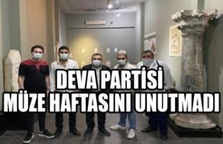 DEVA Partisi Müze Haftasını Unutmadı