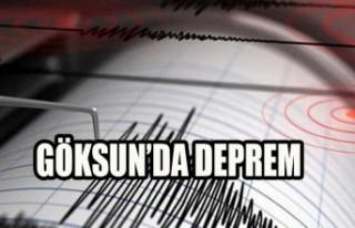 Göksun'da  Deprem
