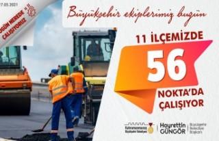 Kahramanmaraş Büyükşehir Fen İşleri Dairesi...