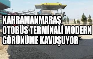 Kahramanmaraş Otobüs Terminali Modern Görünüme...